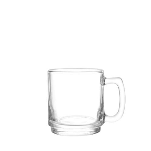 Coffee Mug 9 Ounces Glass              Item # 0149AL24
