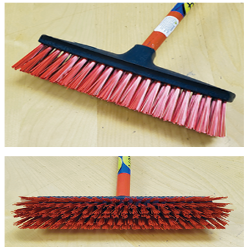 Push Broom 4-Asst Colors     Item  # 002482