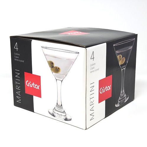 GB MARTINI Goblet 9 Oz 4Pk  Item # 5442EL4HE