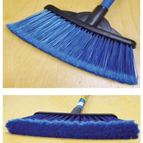 Sweeper Broom Ast Clr- Short  Item # 0208