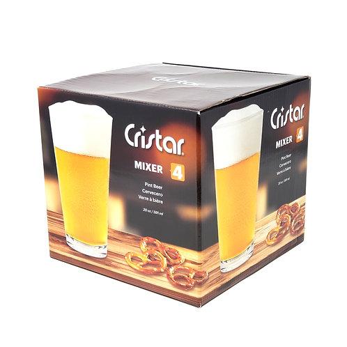 GB HERRADURA Beer Glass  Item # 0645EL4HE