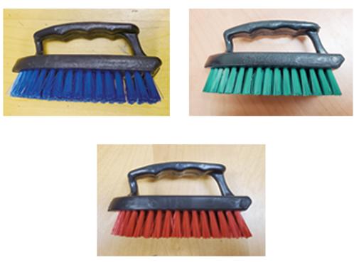 Scrub Brush Assorted Colors    Item # 0211