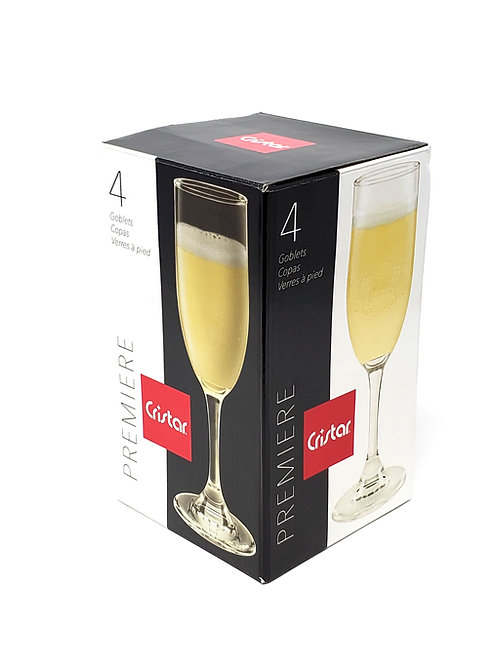 PREMIERE Champagne Glass  Item # 4640EL4HE