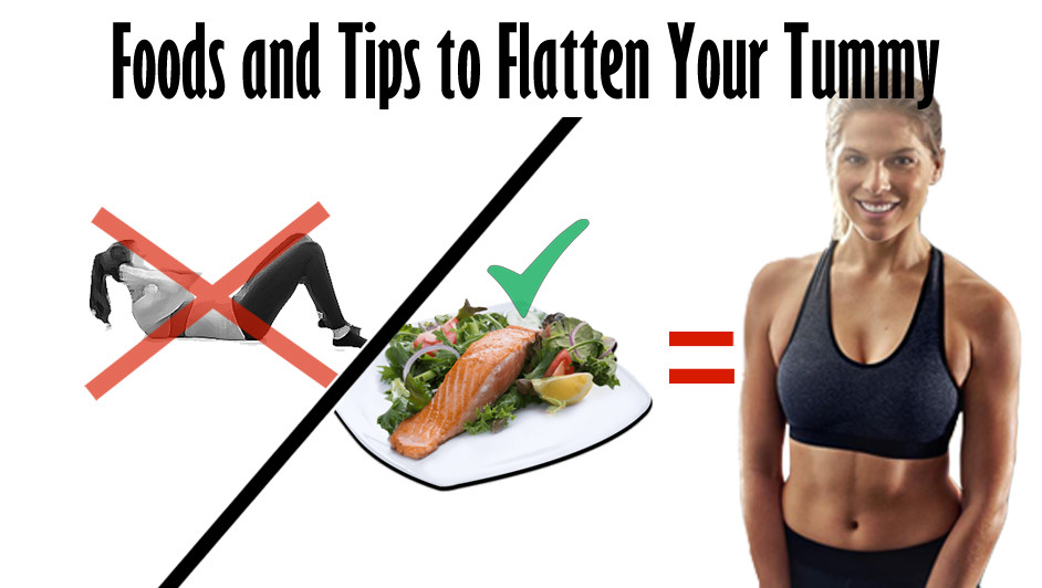 Foods and Tips to Flatten Your Tummy