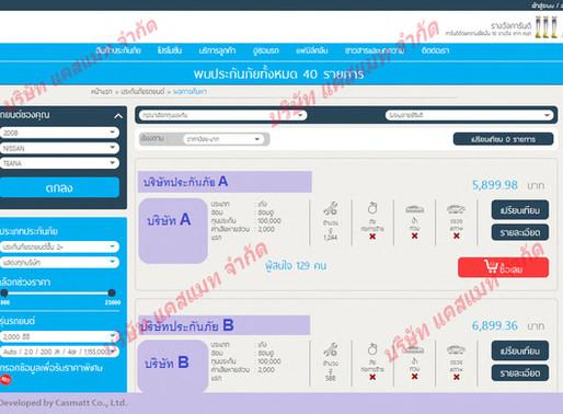 Auto Insurance Smart Search and Comparison Web Site