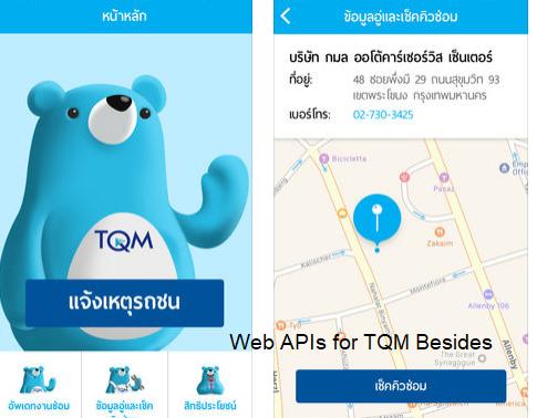 TQM Beside Mobile Application For TQM Insurance Broker