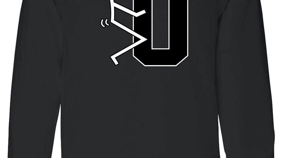 Men's/Unisex Stick Figure F*ck U Long Sleeve T-Shirt
