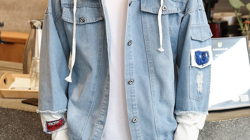 Men's Retro Denim Jacket