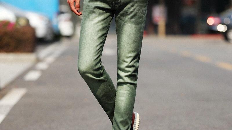 Men's Skinny Stretch Denim Jeans