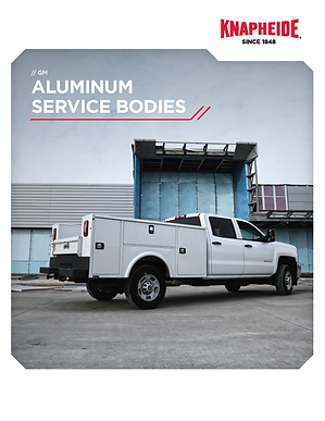 Cover - GM Aluminum Service Body Literat