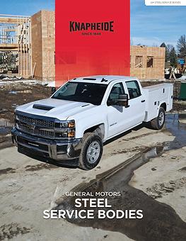 Cover - GM Steel Service Body Literature