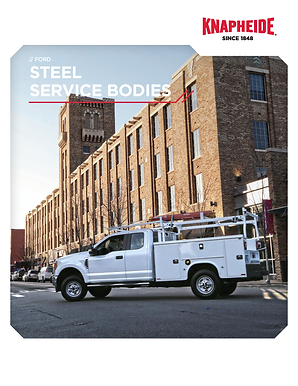 Cover - Ford Steel Service Body Literatu
