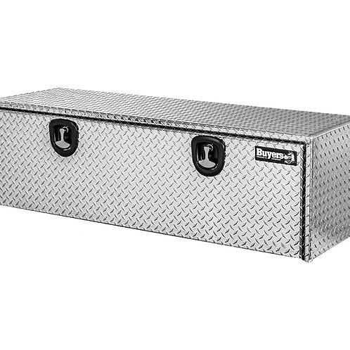 "Buyers Products Diamond Tread Aluminum Underbody Toolbox 24"" x 24"" x 60"""