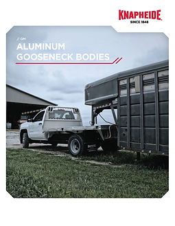Cover - GM Aluminum Gooseneck Bodies Lit