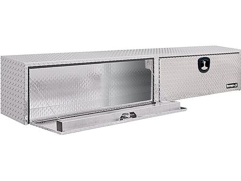 "Buyers Products Diamond Tread Aluminum Topsider Toolbox 16"" x 13"" x 72"""