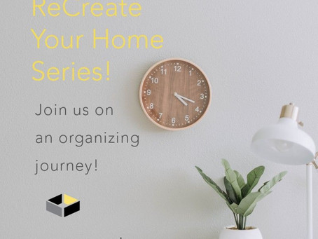 ReCreate Your Home Series!