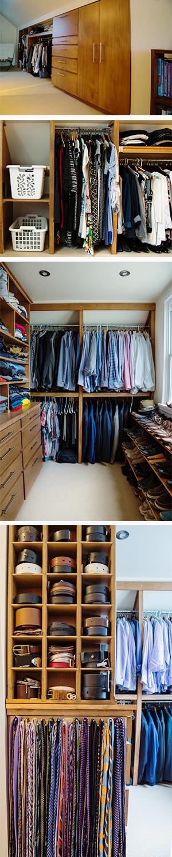 A Custom Organized Closet