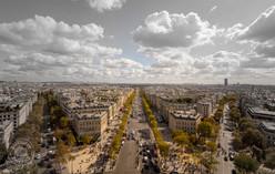 The Arc de Triomphe de l'Étoile, Paris - France