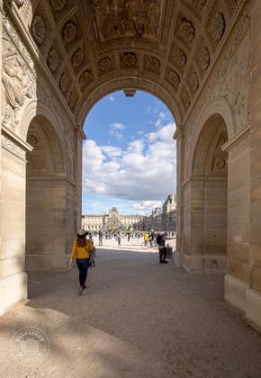 Arc de Triomphe du Carrousel, Paris - France