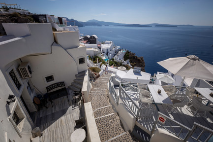 Slopes of Oia