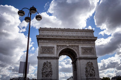 The Arc de Triomphe de l'Étoile, Paris - France