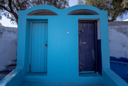 Restrooms in Oia