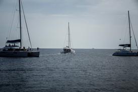 Boats of Santorini