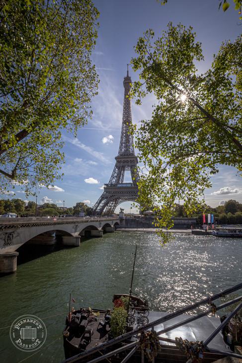 Pont d'Iéna and Eiffel Tower, Paris - France