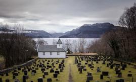 Norway Church Graveyard