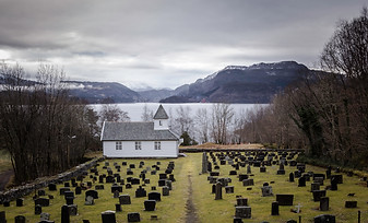 Norway Church Graveyard