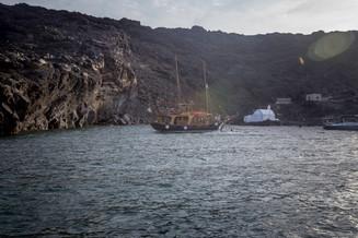 Santorini, Caldera