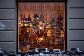Bicycle shop in Copenhagen