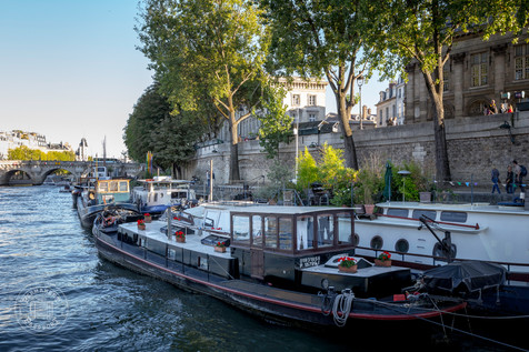 Seine River, Paris, France