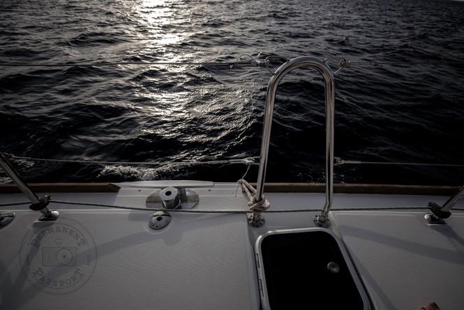 Sail in Santorini
