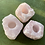 Thumbnail: Raw Rose Quartz Crystal Candle Holder