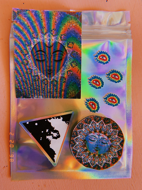 Moon Goddess Sticker Pack