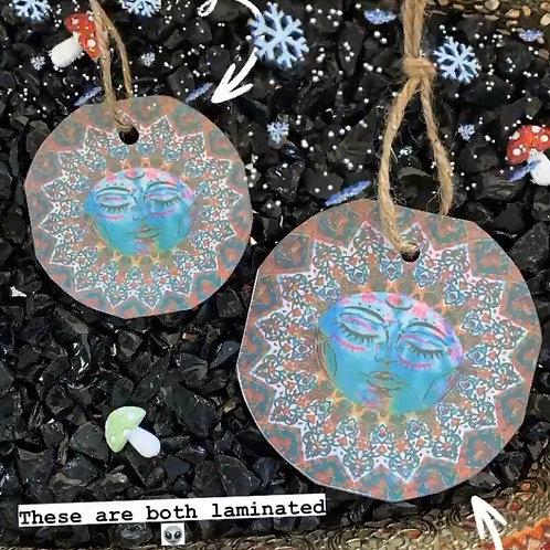 Moon Goddess Ornaments