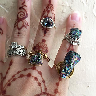 New Rings are Up! Check out moonpower.jp