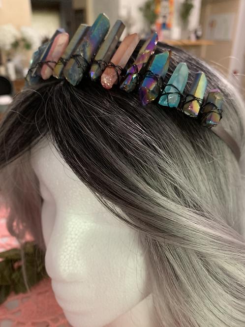 Rainbow Dayz Custom Crown (made to order)