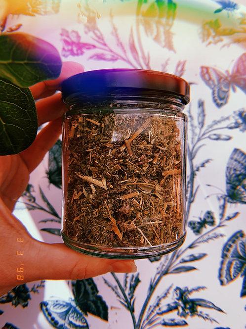 Organic Mugwort Loose Leaf Tea