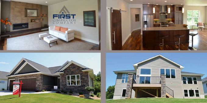 First Construction Company  Builds Distinctive Homes
