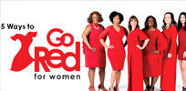5 Ways to Go Red for Women