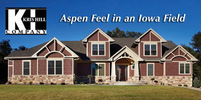 Aspen Feel in an Iowa Field           Sunderman Construction
