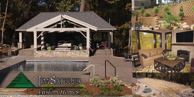 Creating a Relaxing Retreat in Your Own Backyard           Jim Sattler Custom Homes