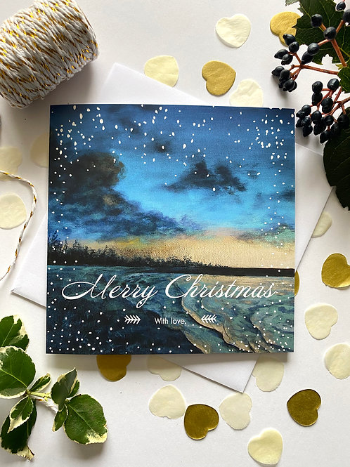 Pacific Breeze Christmas Card