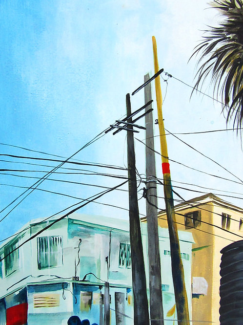 Urban Paradise Print
