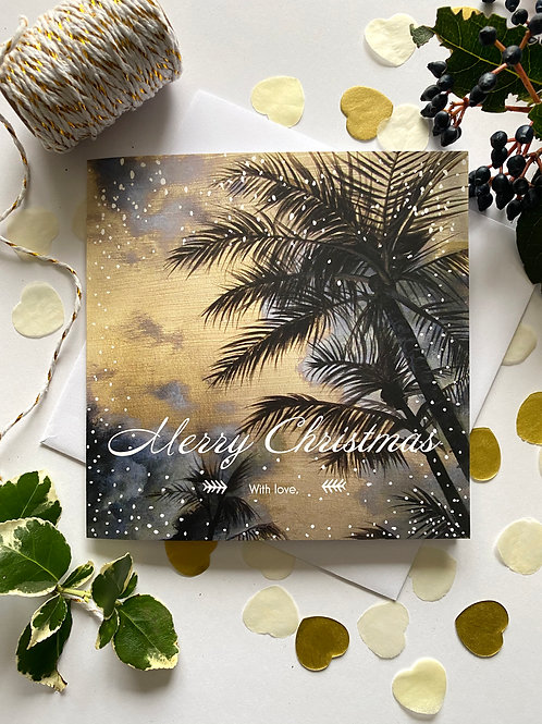 Reign in Paradise Christmas Card