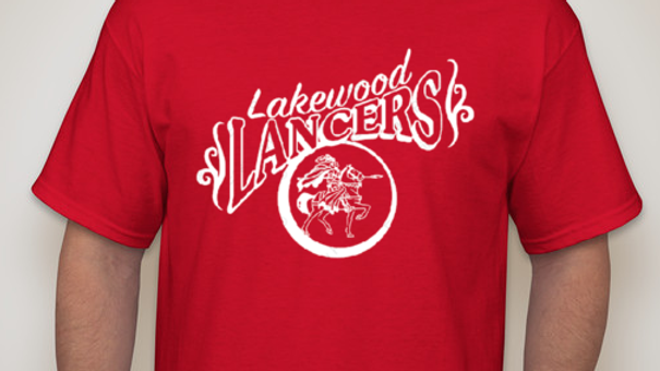 """Lakewood Lancers"" Classic T-Shirt or Sweatshirt"