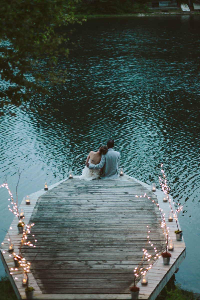 M+J's Relaxed Cottage Wedding