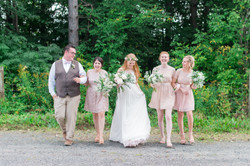 A+R's Rustic Sugar Bush Wedding